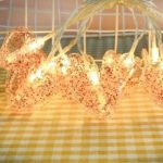 10LED Heart Clip Fairy String Light Wedding Party Holiday Decorative Lamp