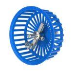 20-100mm Adjustable Circle Tile Cutter Hole Cutter for Ceramic Tile (Blue)