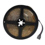 300LED RGB Strip Light Flexible Cabinet Lamp Tape with Remote Control (5m)