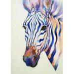 5D DIY Diamond Painting Zebra Embroidery Cross Stitch Mosaic Craft Kits
