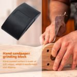 Hand Sanding Block Dry-wall Polishing Pad Sandpaper Mat Woodwork Tools (B)
