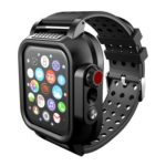 Waterproof TPU Protective Case Protector for Apple iwatch 4 Band (44mm)