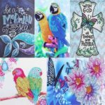 5D DIY Special-shaped Diamond Painting Cross Stitch Mosaic Kit (H115 Bird)