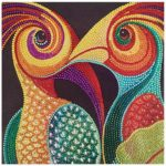 5D DIY Special-shaped Diamond Painting Cross Stitch Embroidery (D1067 Bird)