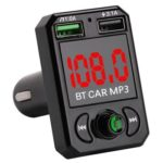 Car Charger Handsfree Bluetooth MP3 Player FM Transmitter Modulator Car Kit