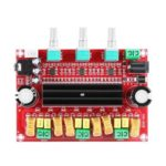 TPA3116D2 2.1 Digital Audio Amplifier Board DC 24V 80Wx2+100W Subwoofer