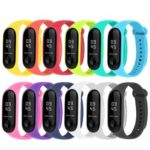 12pcs Silicone Watchband Replacement Bracelet for Xiaomi Mi Smart Band 4 3