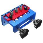 3 in 1 Drill Guide Set Locator Pocket Hole Woodworking Dowel Drill Jig