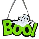 Nonwoven Ghost Letter Pattern Pendant Hanging Halloween Festival Decoration