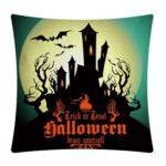 Halloween Pumpkin Pillowcase Cushion Case Throw Pillow Cover Home Decor (6)