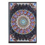 DIY Mandala Special Shaped Diamond Painting 50 Sheets A5 Office Notebook
