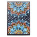 DIY Mandala Special Shaped Diamond Painting 50 Pages A5 Diary Book Notebook