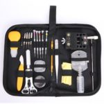 145pcs Watches Repair Kit Repair Tools Spring Bar Tool Set Watch Carry Case