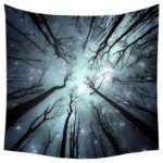 100 X 75cm Fantasy Forest Polyester Tapestry Wall Hanging Carpet Picnic Mat