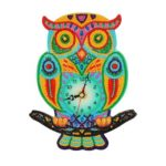 DIY Diamond Painting Full Special-shaped Drills Embroidery Wall Owl Clock