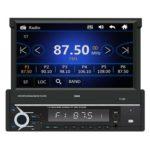 SWM T-110 Bluetooth Car Stereo 7 inch Retractable Screen Radio Receiver