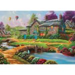 5D DIY Full Drill Diamond Painting House Embroidery Mosaic Craft Kit (w661)