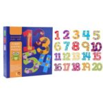 1 Set Cartoon Numbers Letters Puzzle Toys Funny Early Education Jigsaw (2)