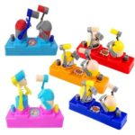 Funny Practical Jokes Fight Battle Antistress Toy Desktop Game Color Random