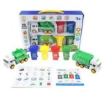 Garbage Sorting Game Early Education Puzzle Toys Trash Can Cards Blocks