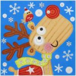 5D DIY Special Shaped Diamond Painting Christmas Elk Embroidery Mosaic Kits