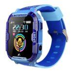 K22 Children Smart Watch 4G WiFi GPS Tracker SOS Call Watch Phone (Blue)
