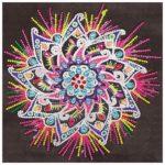 5D DIY Special Shaped Diamond Painting Mandala Cross Stitch Mosaic Kits
