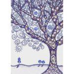 5D DIY Special Shaped Diamond Painting Tree Cross Stitch Mosaic Kits Decor