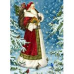 5D DIY Full Drill Diamond Painting Santa Claus Snowman Decor (Christmas08)
