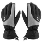 Double-layer Thickened Full Finger Cold-proof Gloves for Motorcycle (XXL)