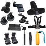 10 in 1 Action Camera Outdoor Sports Accessories Kit for Gopro Hero 7 6 5