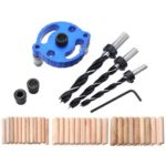 6/8/10mm Woodworking Dowelling Drill Guide Kit Hole Puncher Locator (C)