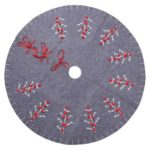 120cm Merry Christmas Tree Carpet New Year Tree Skirts New Year Party Gifts