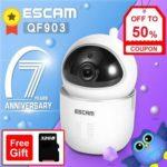 ESCAM QF903 3MP WiFi P2P IP Camera Night Vision Home Security Camera (EU)