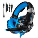ONIKUMA K2 3.5mm Wired Headphone 7.1 Surround Gaming Headset w/ Mic (Blue)