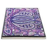 DIY Mandala Special Shaped Diamond Painting 50 Pages Notebook A5 Sketchbook