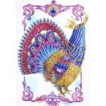 5D DIY Special Shaped Diamond Painting Peacock Pattern Embroidery Decor