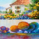 5D DIY Full Drill Diamond Painting Tree Oil Painting Embroidery Kit (z1426)