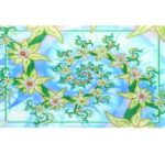 5D DIY Special Shaped Diamond Painting Flowers Pattern Needlework Decor