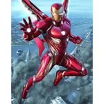 5D DIY Full Drill Diamond Painting Iron Man Cross Stitch Mosaic Kits (H045)