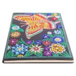 DIY Butterfly Special Shaped Diamond Painting 50 Pages Sketchbook Notebook
