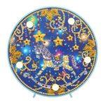 DIY Special Shape Diamond Painting Xmas Horse Light Embroidery Home Decor