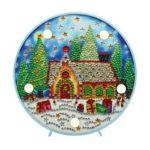 DIY Special Shaped Diamond Painting Xmas Tree Light Embroidery Home Decor