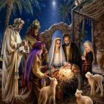 5D DIY Full Drill Diamond Painting Birth of Jesus Cross Stitch Mosaic Kits