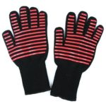 Anti-scalding High Temperature Resistance Gloves Insulation Oven BBQ Mitts
