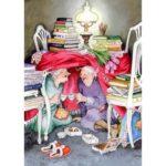 5D DIY Full Drill Diamond Painting Grandma Cross Stitch Mosaic Craft Kits