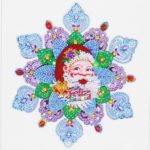 5D DIY Special Shaped Diamond Painting Santa Claus Cross Stitch Mosaic Kit
