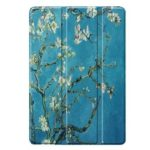 Smart Case Auto Sleep Tablet Cover for iPad 10.2 inch 7th Gen (Flowers)