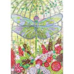 5D DIY Special Shaped Diamond Painting Dragonfly Cross Stitch Mosaic Kits
