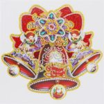 5D DIY Special Shaped Diamond Painting Christmas Bell Embroidery Mosaic Kit